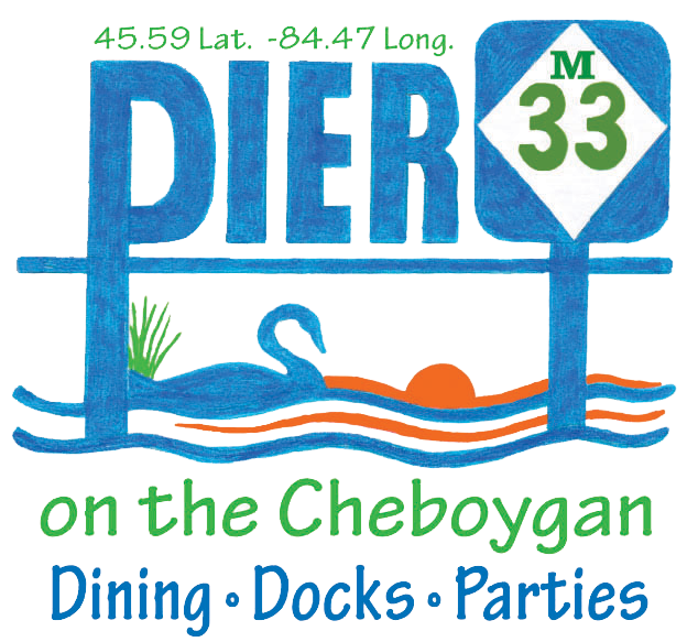 Pier M33 On The Cheboygan
